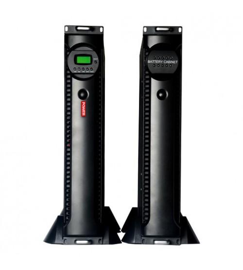 یو پی اس رک مونت POWER KR-RM Series 3000S دارای باتری داخلی