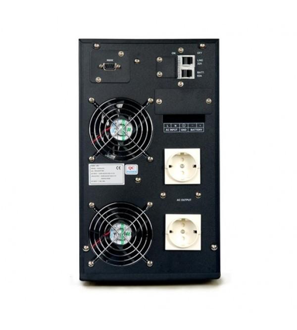 یو پی اس Power سری KI 2000L دارای باتری خارجی
