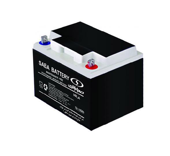 باتری سیلد اسید صبا باتری ۱۲V 42A Saba Battery 12V 42A VRLA Battery