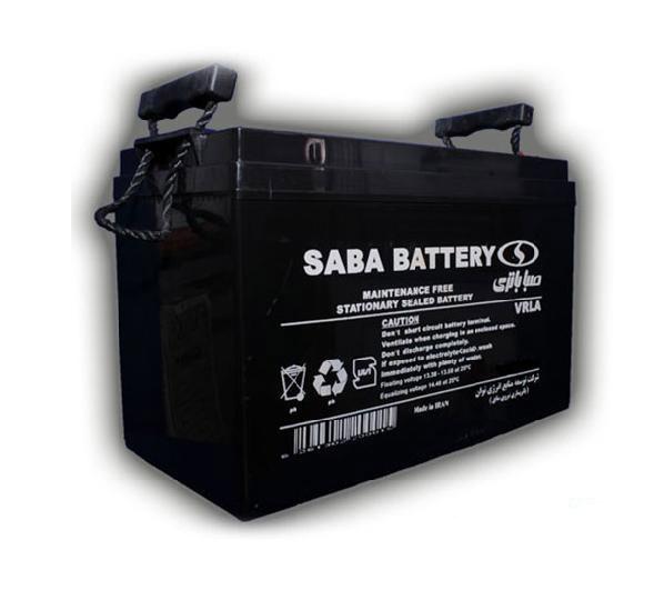 باتری سیلد اسید صبا باتری ۱۲V 7Ah Saba Battery VRLA Battery