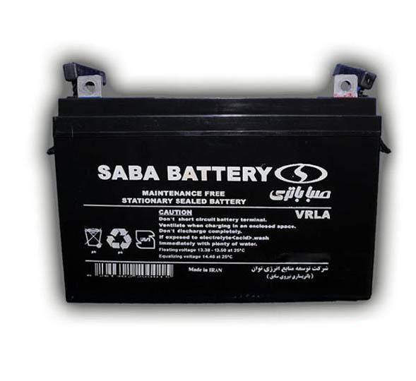 باتری سیلد اسید صبا باتری ۱۲V 155Ah Saba Battery VRLA Battery
