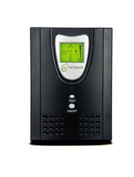 یو پی اس آفلاین تک فاز نت پاور LCD-2000VA با باتری Netpower Single Phase Off Line UPS