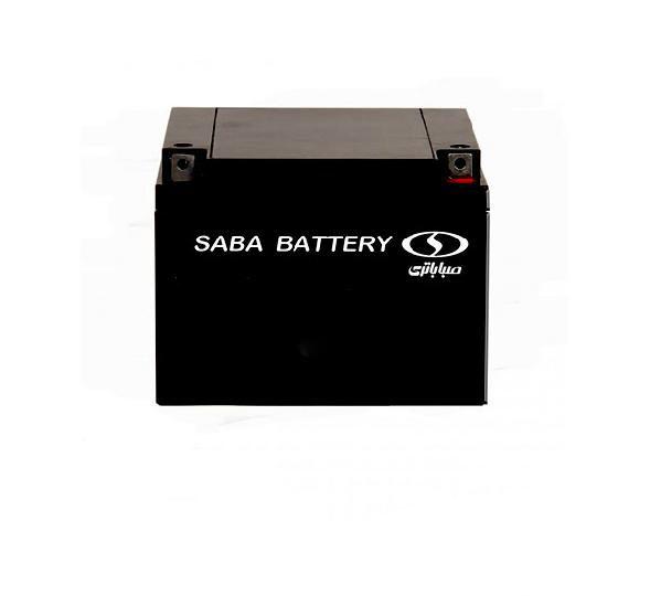 باتری سیلد اسید صبا باتری ۱۲V 28A VRLA Battery