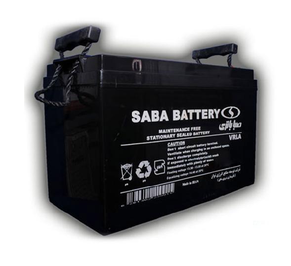 باتری سیلد اسید صبا باتری ۱۲V 200Ah Saba Battery VRLA Battery