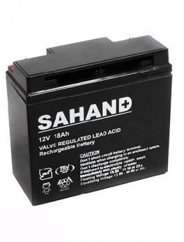 باتری یو پی اس سهند ۱۲ ولت ۱۸ آمپر ساعت